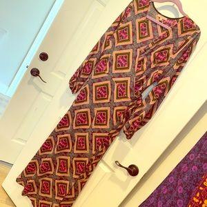 Gibson Latimer maxi wrap dress LIKE NEW
